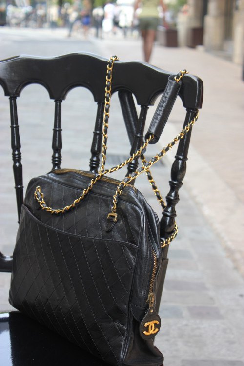 Le grand sac noir Chanel